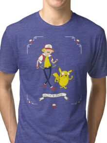 Adventures outside Pallet Town Tri-blend T-Shirt