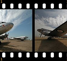 Filmstrip: 2 Dakotas @ Avalon Airshow 2009 by muz2142