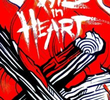Wild in heart Sticker