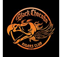 Black Chocobo Riders Club Photographic Print