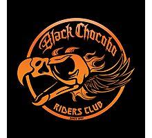 Black Chocobo Riders Club Photographic Print