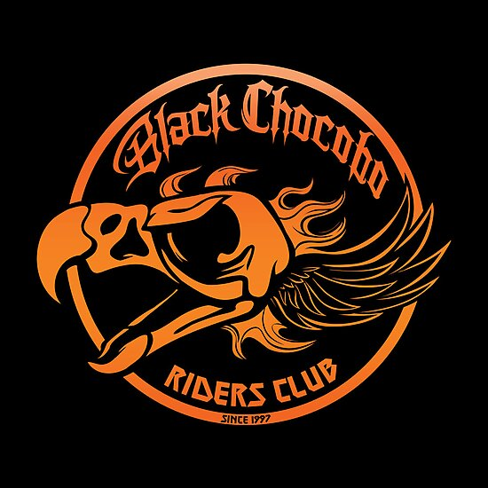 Black Chocobo Riders Club by Kari Fry