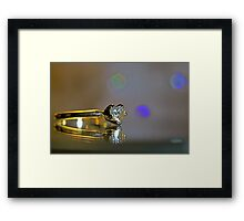 Hearts A Glow Framed Print