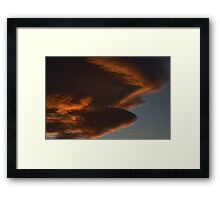 Hey Kirk, are you there? Framed Print
