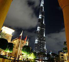 Burj Khalifa through Palace Hotel Arch by Sammy77