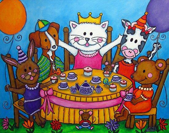 The Little Tea Party by LisaLorenz