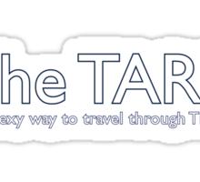 The Sexy Way to Travel - Design 2 Sticker
