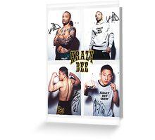 krazy bee gym Greeting Card