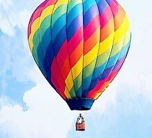 Fly Free - The Hot Air Balloon! by Abie Davis