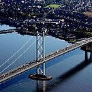 The Forth Road Bridge by Charles  Staig
