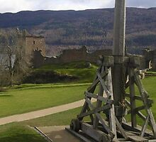 Cabouchon At Urquhart Castle, Loch Ness, Scotland by MagsWilliamson