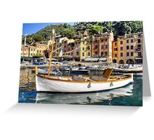 Portofino 3 Greeting Card