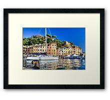 Portofino 4 Framed Print
