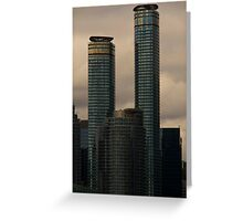 High Class Glass And Concrete - 2 © Greeting Card