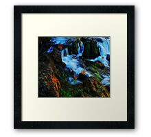 Willow River Falls 4 Framed Print