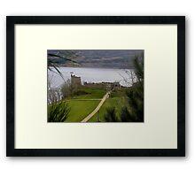 Urquhart Castle, Loch Ness, Scotland Framed Print