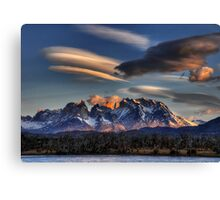 Torres Sunset Canvas Print