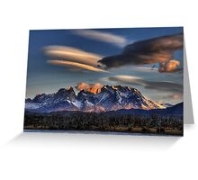 Torres Sunset Greeting Card