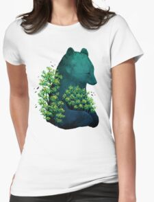 Nature's Embrace Womens Fitted T-Shirt