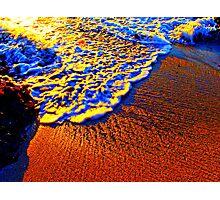 Beach Gold Photographic Print