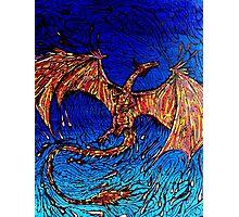 Lava dunked Dragon Photographic Print