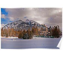 Banff Springs Hotel, Alberta, Canada Poster