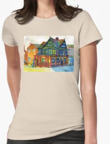 Derby Registry Office Womens Fitted T-Shirt