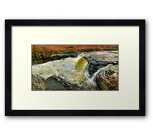 Lower Falls Aysgarth -  Panorama - HDR Framed Print