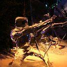Frozen archer by patjila