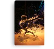 Frozen archer Canvas Print