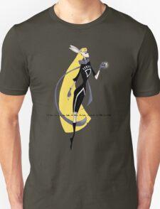 Mad Alice as a Black Lantern: I'm Late T-Shirt