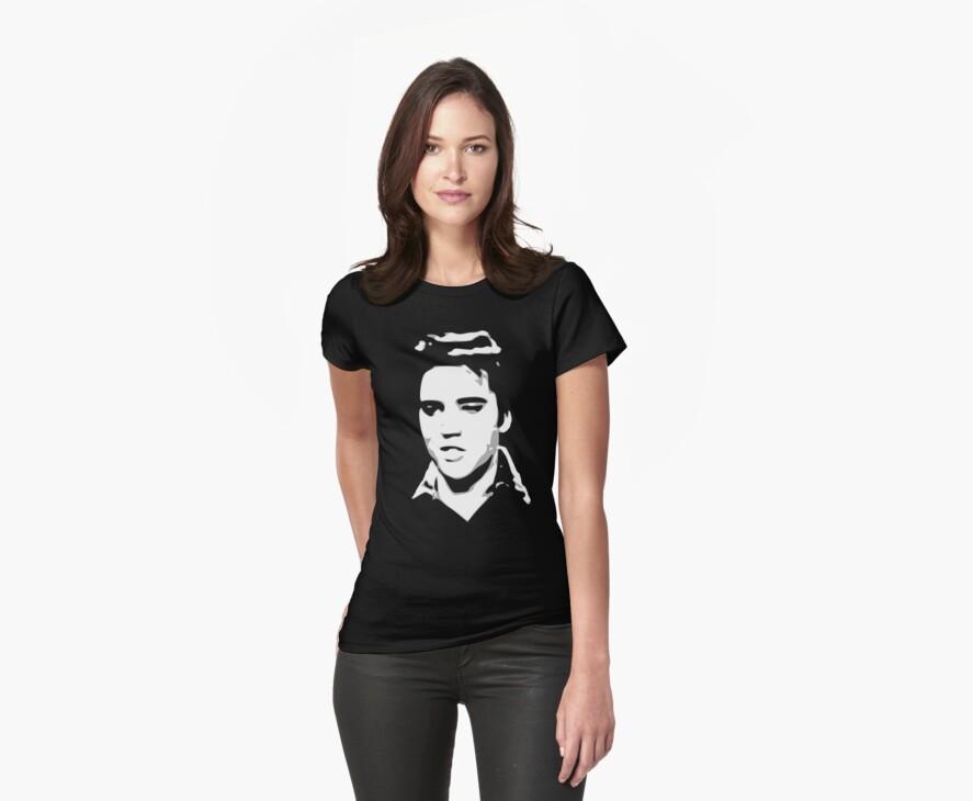 a elvis t-shirt by ralphyboy