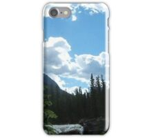 The Lake in the Sky iPhone Case/Skin