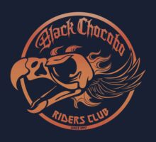 Black Chocobo Riders Club Kids Clothes