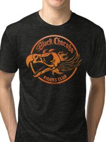 Black Chocobo Riders Club Tri-blend T-Shirt