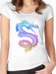 Colorful Dragon Women's Fitted Scoop T-Shirt