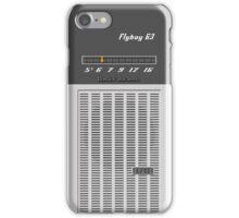 Transistor Radio - Flyboy Gray iPhone Case/Skin