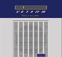 Transistor Radio - Flyboy Blue by ubiquitoid
