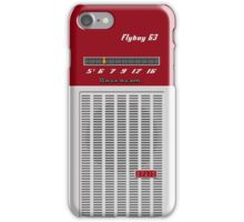 Transistor Radio - Flyboy Red iPhone Case/Skin