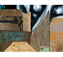 Wood Assemblage Photographic Print