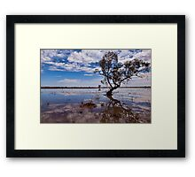 Beauty of the Outback - Wilcannia, NSW Framed Print