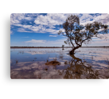 Beauty of the Outback - Wilcannia, NSW Canvas Print