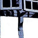 Blue shutter window Vannes 1 by ragman