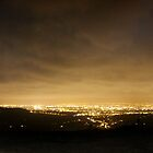 Night Clouds over Manchester by Mark Smitham