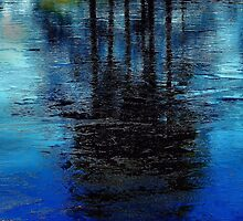 Blue Ice  by ivDAnu