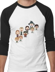 The Fellowship of the Ring Men's Baseball ¾ T-Shirt