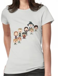 The Fellowship of the Ring Womens Fitted T-Shirt