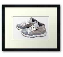 Jordan Retro 11 Framed Print