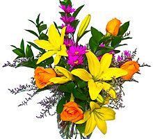 Assorted bouquet  by Gleb Zverinskiy