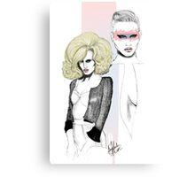 Lara Stone Canvas Print